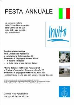 Festa italiana - 9. Fest der italienischen Gemeinde