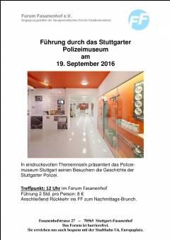 Stuttgarter Polizeimuseum