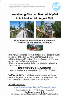 Wanderung - Baumwipfelpfad Wildbad