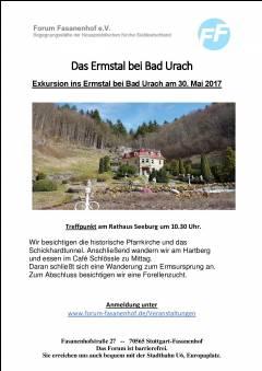 Wanderung zur Ermsquelle - Seeburg/Urach