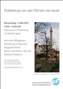 Rottenburg von den Römern bis heute