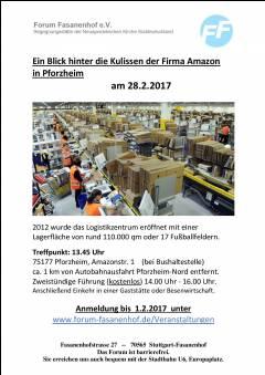 Besuch im Logistikzentrum Amazon Pforzheim