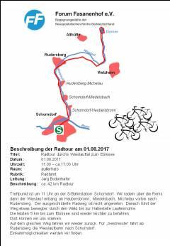 Fahrradtour zum Ebnisee