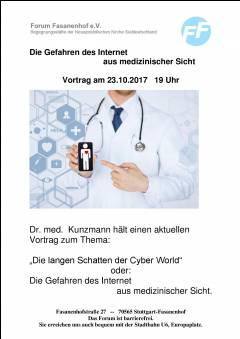 Gefahren des Internet aus medizinischer Sicht