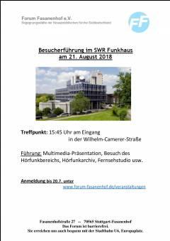 Besichtigung Süddeutscher Rundfunk