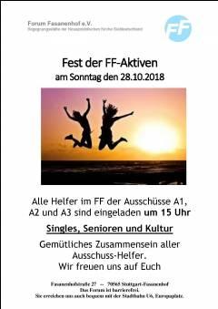Fest für alle Aktiven von A1 bis A6