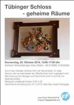 Tübinger Schloss - geheime Räume