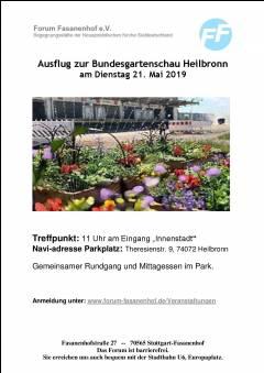 Besuch der Bundesgartenschau in Heilbronn