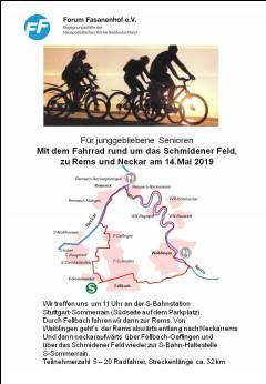 Radtour rund ums Schmidener Feld