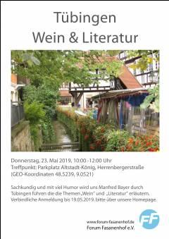 Tübingen - Wein & Literatur