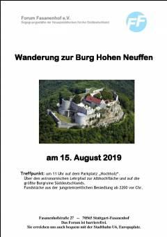 Wanderung zur Burg Hohen Neuffen