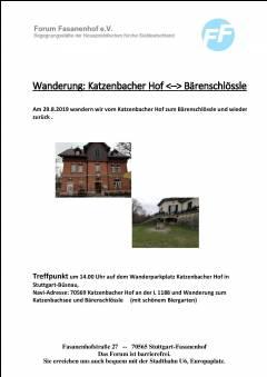 Rundwanderung Katzenbacher Hof - Bärenschlössle - Katzenb. Hof