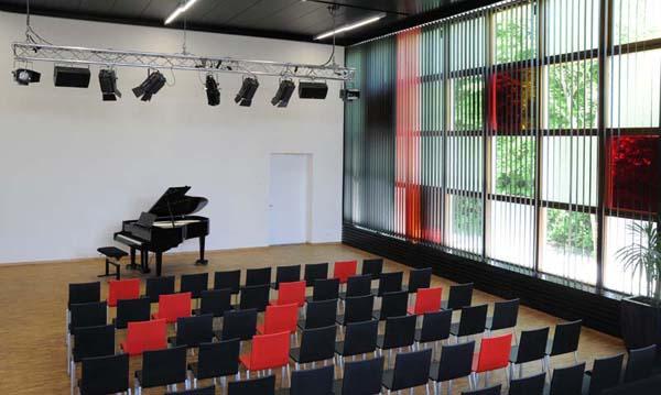 Der Saal als Konzertsaal